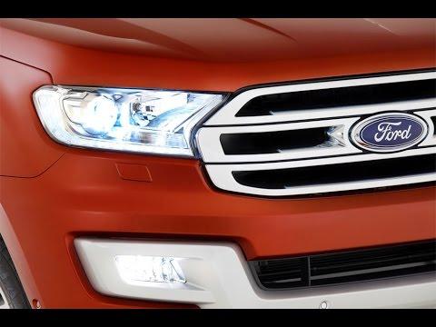New Ford Everest честный рамный внедорожник