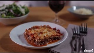 How to Make Classic Meat Lasagna | Ground Beef Recipes | AllRecipes