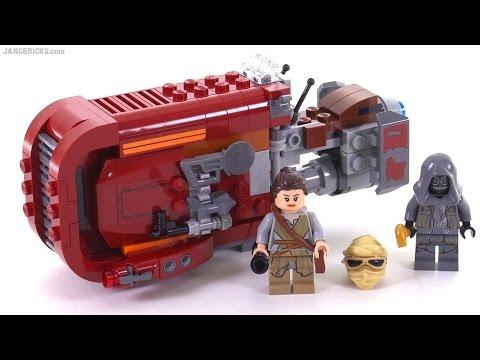 Lego Star Wars Reys Speeder Review 75099 Youtube
