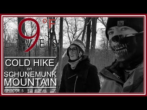 Cold Hike on Schunemunk Mountain - HUDSON VALLEY (Episode 5: 9 LIVES Land & Sea Adventures)