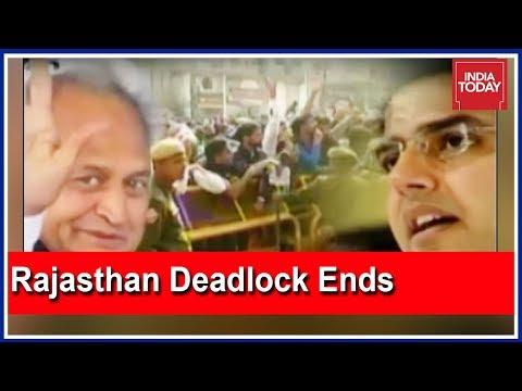 Rajasthan Deadlock Ends: Ashok Gehlot To Be Rajasthan CM