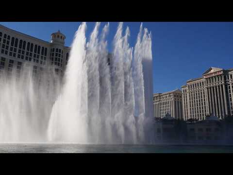 The Fountains of Bellagio celebrate 20 years
