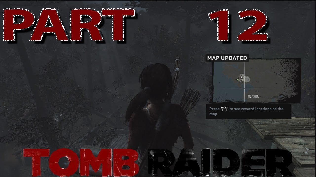 Let\'s Play: Tomb Raider - Part 12: Treasure Map for Coastal Forest!