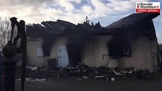 VIDEO. Brion : cinquante pompiers mobilisés sur un incendie