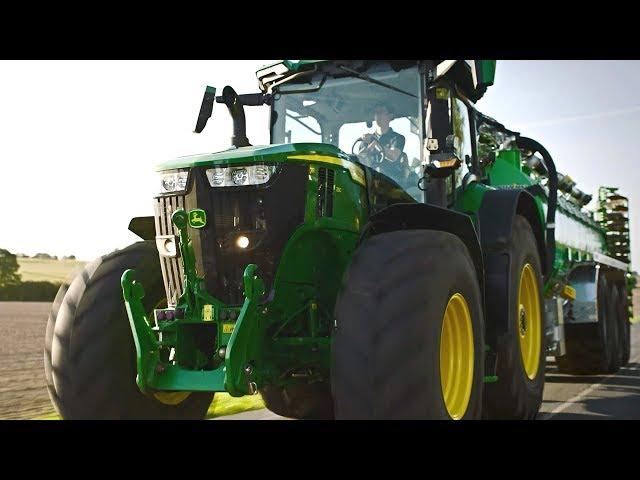 John Deere | 7R-Serien - Flytta mer