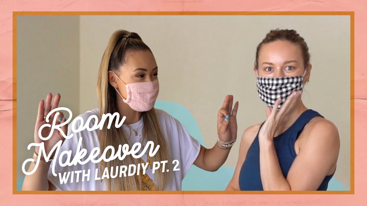 LaurDIY helps me makeover my filming room! (pt 2)