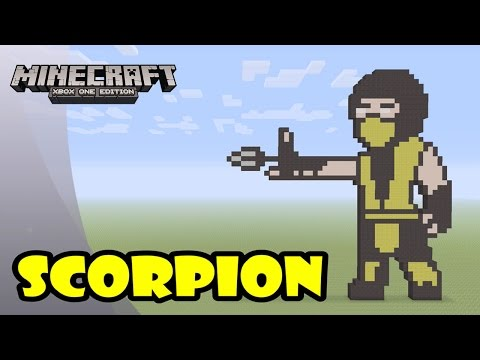 Scorpion - Minecraft Animation [Mortal Kombat] from YouTube · Duration:  1 minutes 24 seconds