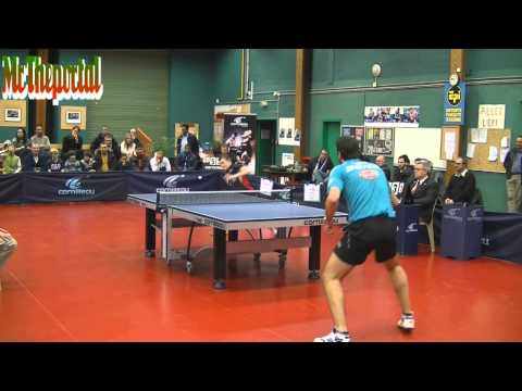 Table Tennis French League 2013/2014 - Robinot A. Vs Gionis - (Robinot Camera)