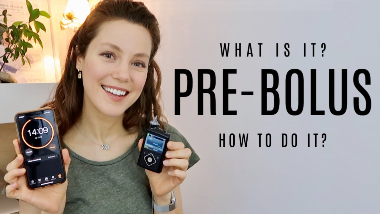 Pre-Bolusing + Type 1 Diabetes Explained | She's Diabetic