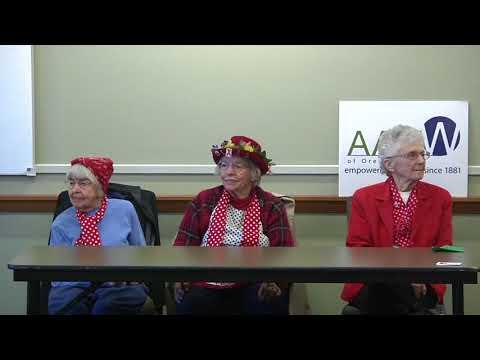 American Association of University Women 'Rosies'