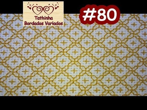 BORDADO ORIENTAL / SASHIKO EMBROIDERY - Tathinha Bordados #80