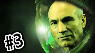 PICARD IS HERE? - Alien: Isolation - Gameplay Walkthrough - Part 3