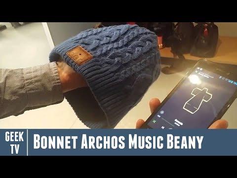 Présentation du bonnet Archos Music Beany en avant-première
