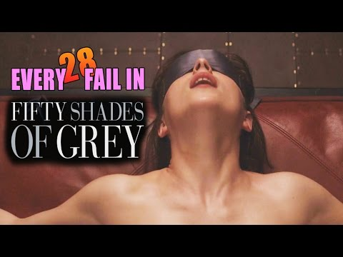 Every Fail In Fifty Shades of Grey | Everything Wrong With 50 Shades of Grey, Mistakes and Goofs