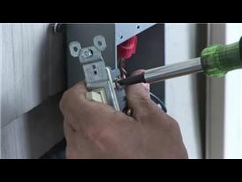 1 Way Light Switch Wiring Diagram Nissan Navara D40 Electrical Help How To Install A Outside Youtube