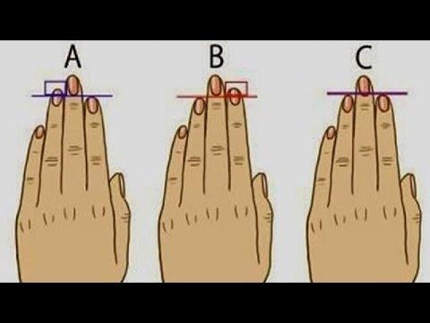 あなたはどのタイプ?指の長さで分かる性格診断が話題に!