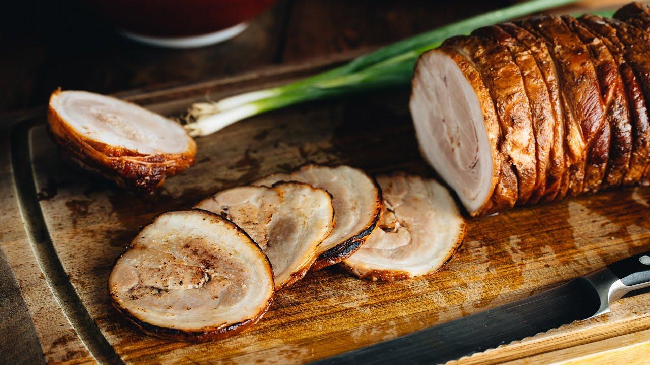 Chashu (Japanese Braised Pork Belly) チャーシュー • Just One