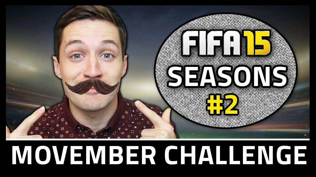 MOVEMBER CHALLENGE! #2 - Fifa 15 Seasons - YouTube