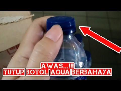 AWAS BERBAHAYA..!!! Tutup Botol Aqua Yang Tidak Sesuai Standard Pengemasan