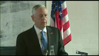 Mattis, Danish Defense Minister Hold News Conference in Copenhagen