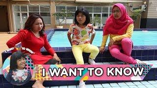 Biar Engga Endut, Ria Ricis, Upiak dan Alifa Senam Bareng - I Want to Know (20/5)