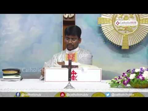 4th Day of Novena of Nine Tuesdays to ST  Anthony Padua Holy Telugu Mass  8 - 05-18