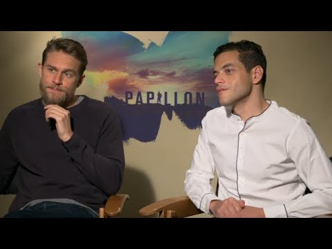 Charlie Hunnam & Rami Malek on 'Papillon' Weight Loss and Nude Fight