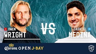 Owen Wright vs. Gabriel Medina - Quarterfinals, Heat 1 - Corona Open J-Bay 2019
