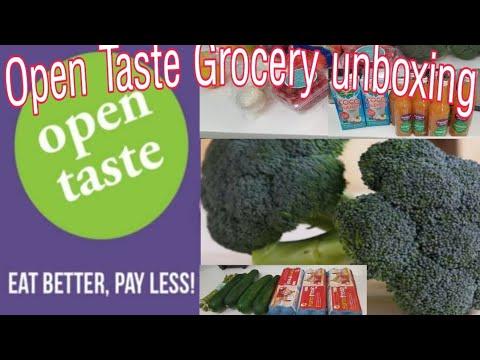 OPEN TASTE ORGANIC ONLINE SHOP SINGAPORE |OPEN TASTE ORGANIC GROCERY HAUL