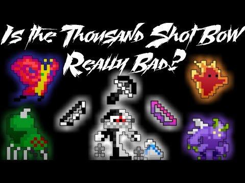 Rotmg - Comparing Thousand Shot to Doom/Coral Bow