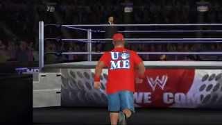 WWE 12 On Dolphin Emulator - Orton v Cena  (Test) v3.0-776-dirty