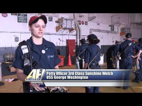 USS George Washington Completes INSURV