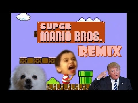 Super Mario Bros. Theme - Remix Compilation
