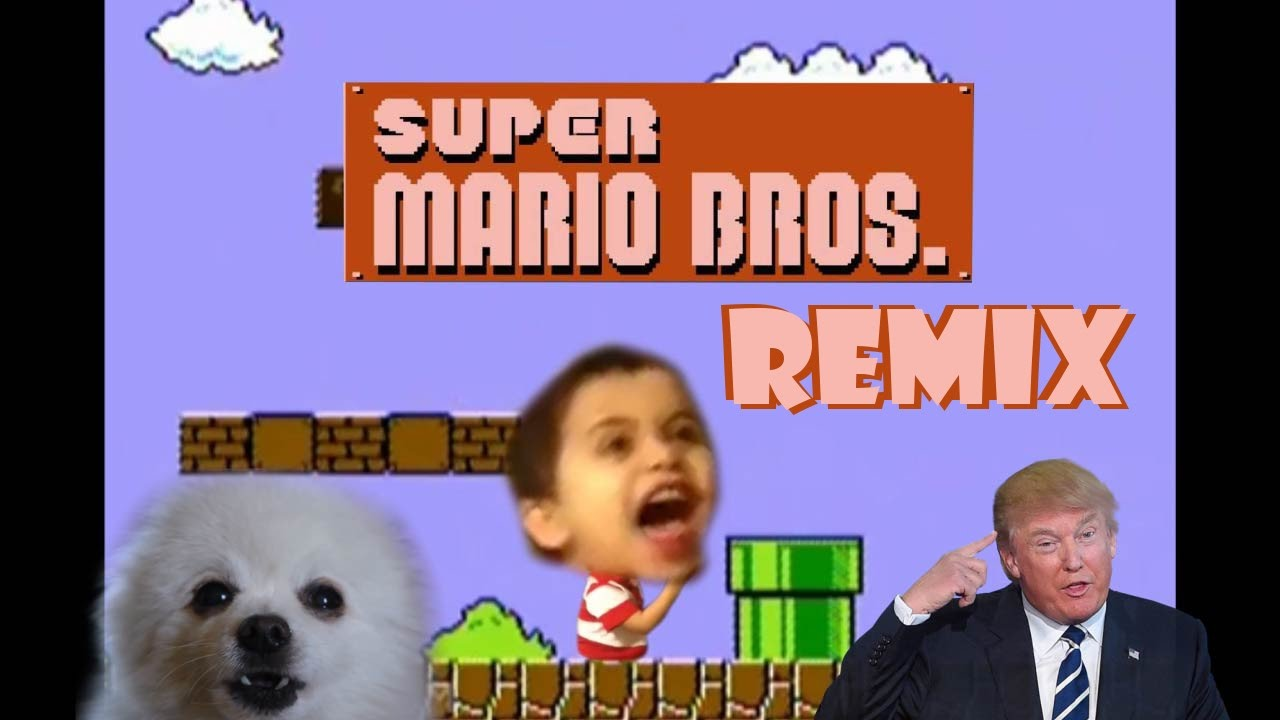 super mario bros theme remix compilation youtube. Black Bedroom Furniture Sets. Home Design Ideas