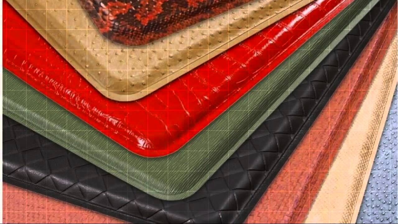 kitchen floor rugs short curtains for mats youtube
