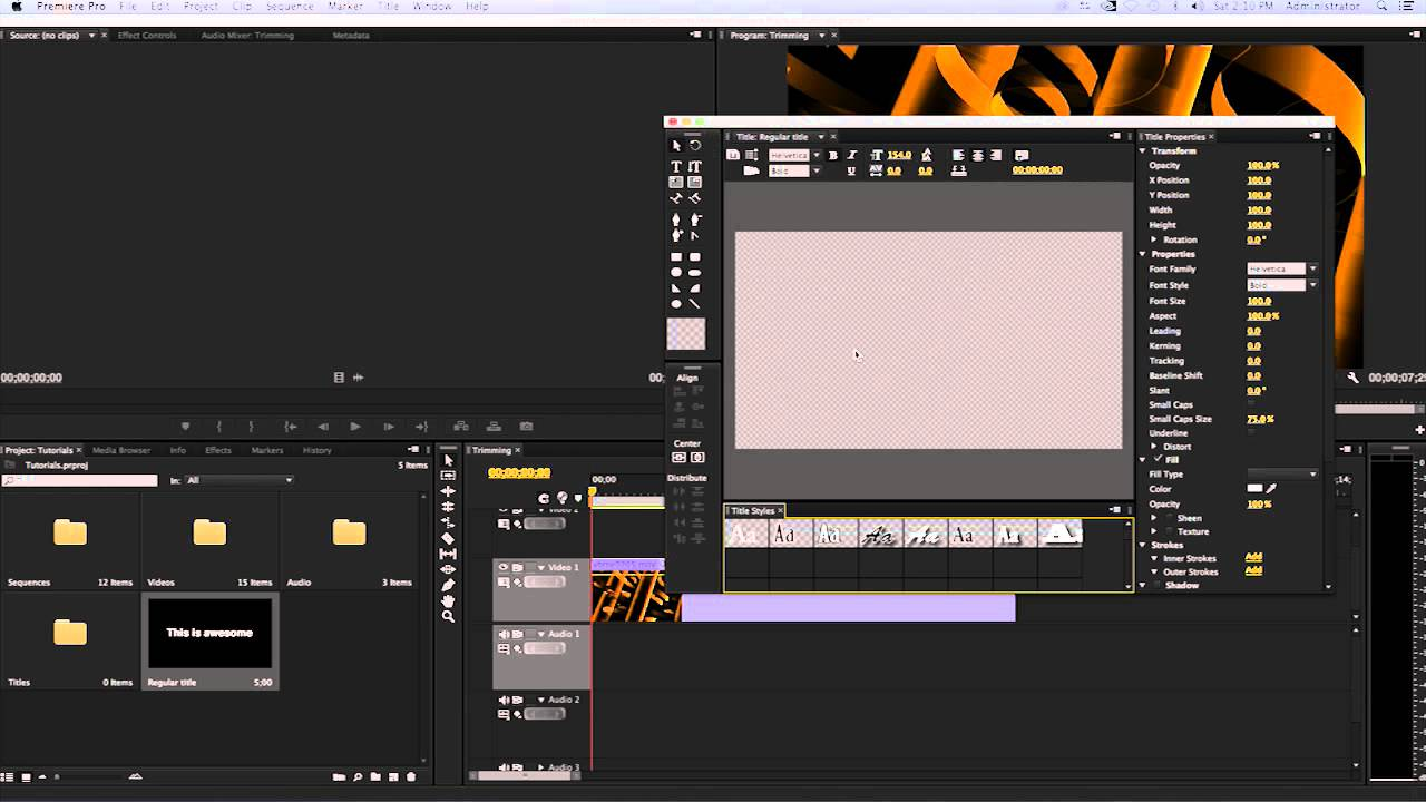 How to create plain text and scroll text adobe premiere pro cc or how to create plain text and scroll text adobe premiere pro cc or cs6 ccuart Gallery