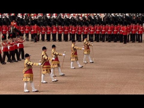 Trooping the colour 2012/ 'Les Huguenots'