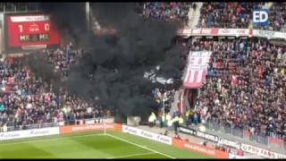 Kinderen in paniek na rookbommen tijdens PSV - Ajax: vijftien gewonden