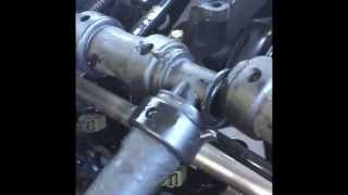 2008 Ford Expedition heater hose repair hack in 4 mins for $7.00!!