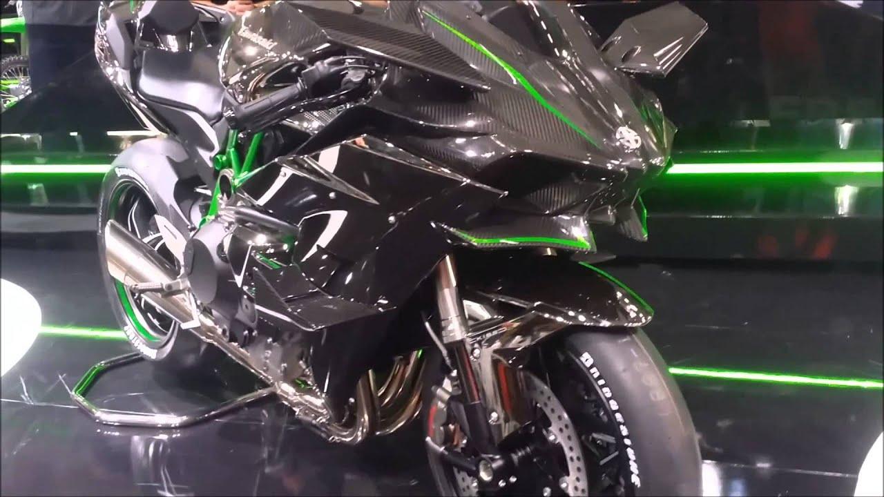 Kawasaki Ninja H2R 2015 Go Around