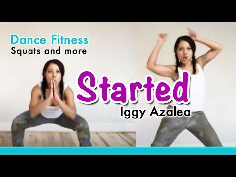 Started by Iggy Azalea  | Beni's Choreo | Squat Routine | Dance Fitness