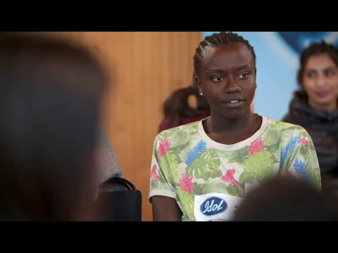Tusse Chiza chockar juryn i Idol 2019 - Idol Sverige (TV4)
