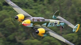 DURAFLY Me110 or Bf110 RC Intimidator of the Skies