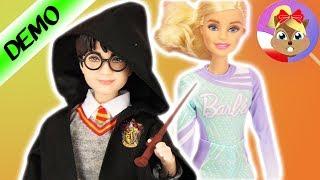 Nowy przyjaciel BARBIE? LALKA HARRY POTTER od Mattel   po polsku  Gryffindor Doll różdżka + peleryna