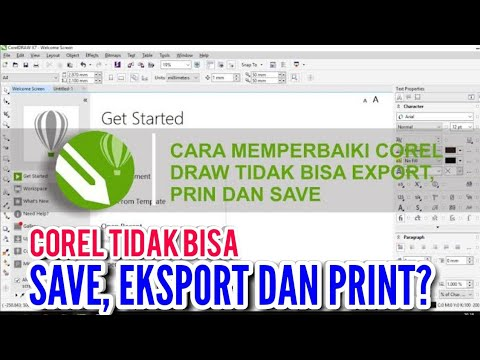 coreldraw #coreltidakbisasave #howtofix For those of you who are having problems with CorelDRAW like.