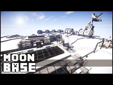 Minecraft - Moon Base