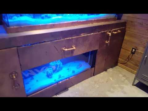 Submarine fish tank custom built