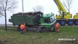 Berging vrachtwagen Oldebroekerweg Biddinghuizen