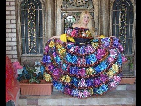 2f1b3bf4e ♥ Outfit Hermoso Traje Típico Chiapas ♥ Mes Patrio - YouTube