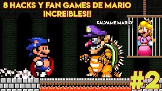8 Hacks y Fan Games de Mario tan Increíbles que Parecen Hechos por Nintendo (PARTE 2) - Pepe el Mago